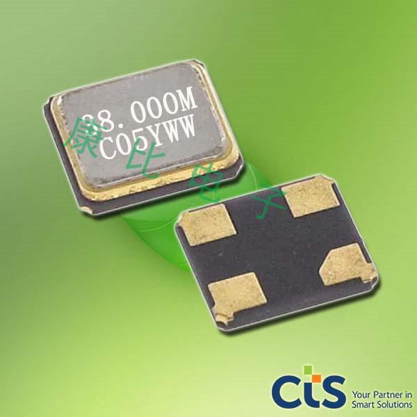 CTS晶振,贴片晶振,405晶振,405C35B16M00000晶振