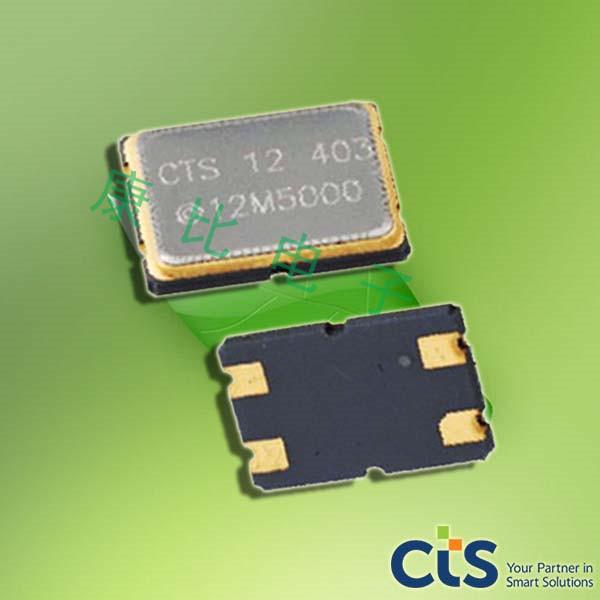 CTS晶振,贴片晶振,407晶振,407F35E009M6000晶振