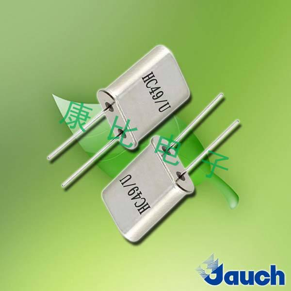 Jauch晶振,石英晶振,HC49/U晶振