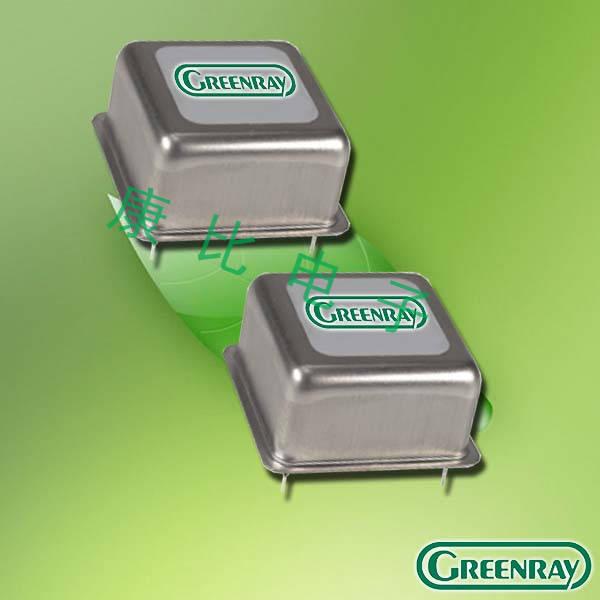 Greenray晶振,石英晶振,T1170晶振