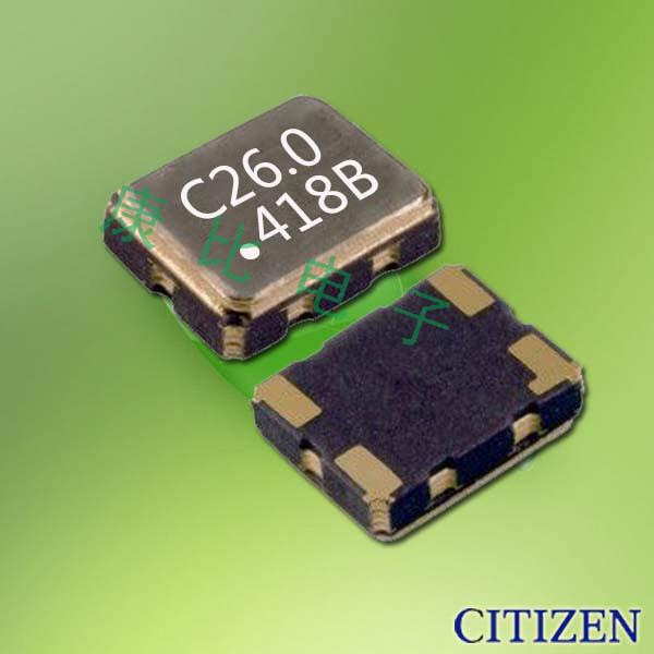 西铁城晶振,贴片晶振,CSX-325T晶振,CSX325T13.000M2-UT10晶振