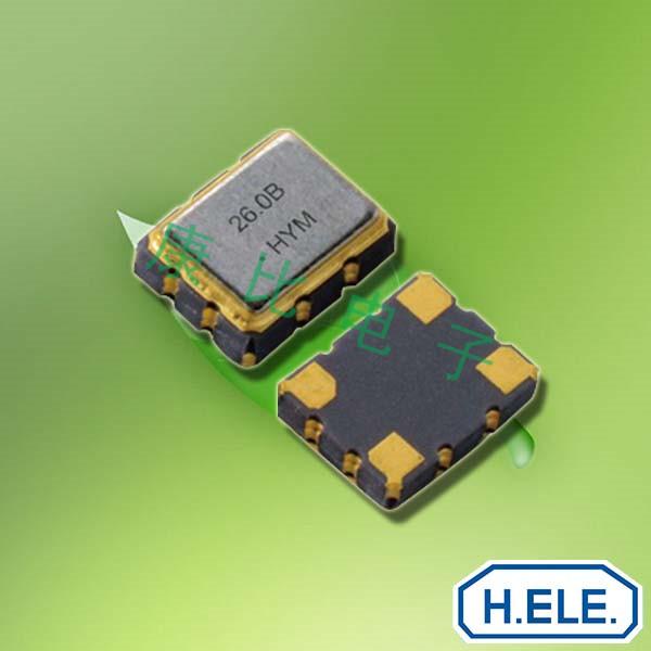 加高晶振,石英晶体振荡器,HSB321S晶振