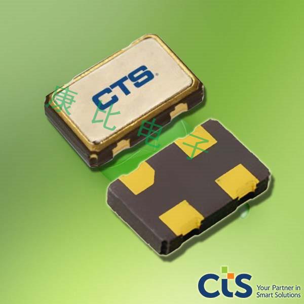 CTS晶振,贴片晶振,520晶振,520L15IA40M0000晶振
