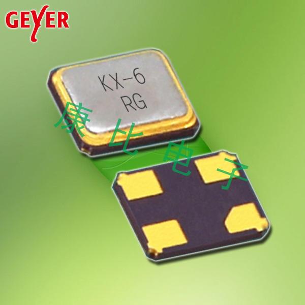 GEYER晶振,贴片晶振,KX-6晶振