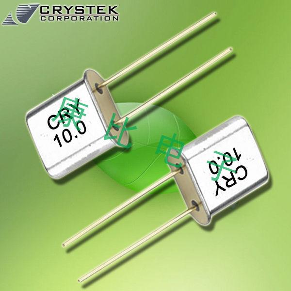 Crystek晶振,插件晶振,CRMxx晶振