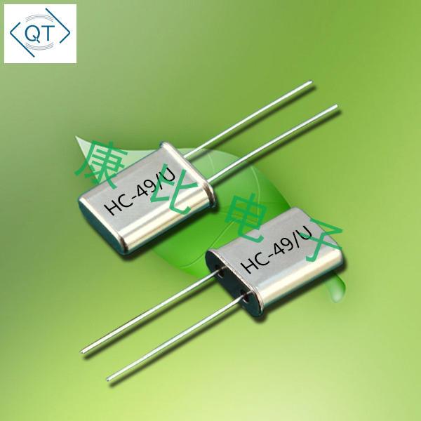 QuartzChnik晶振,插件晶振,QTCC-HC49U晶振