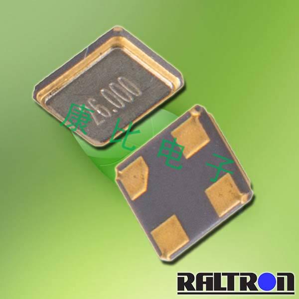 Raltron晶振,无铅环保晶振,R2520晶体