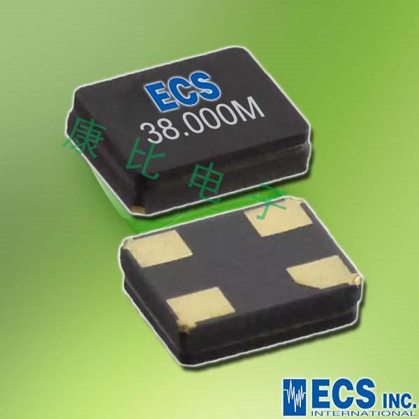ECS晶振,进口压电石英晶体,ECX-1247无铅晶振