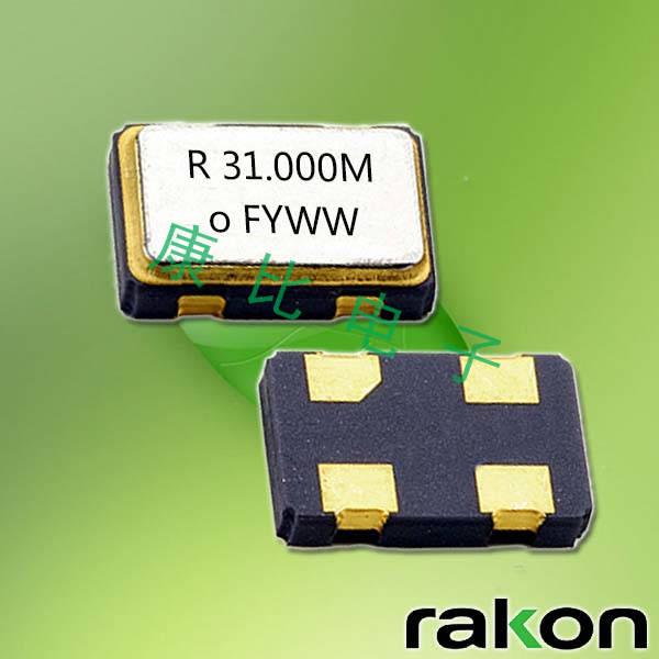 Rakon晶振,SPXO有源晶振,RXO5032M低抖动振荡器