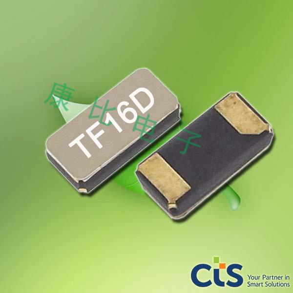 CTS晶振,压电石英晶振,TF32晶体