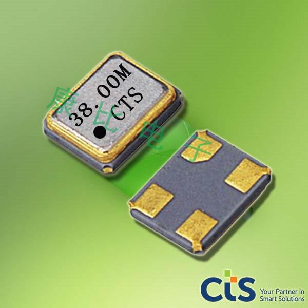 CTS晶振,压电石英晶振,425贴片无源晶振