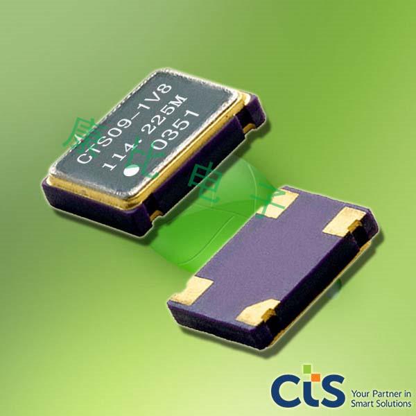 CTS晶振,耐高温晶振,636高性能晶振